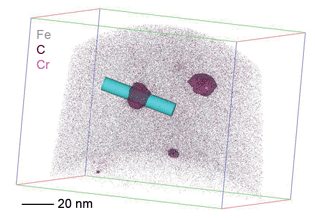 Nanoscale 3D mapping of stainless steel with EIKOS atom probe